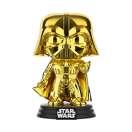 Wars - Chrome Darth Vader - Vinyl Figur,ca. 9cm (2019 Galactic Convention) ()