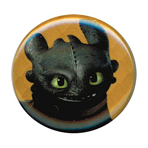 How To Train Your Dragon 2 Toothless Smile 1 Inch Pulsante