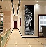 Raybre Art Art 3 Panel Gedruckt Ölgemälde Abstrakte Moderne Buddha Für Wand-dekor Dekoration, kein Rahmen