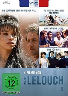 Cinéma Classique: Claude Lelouch - Box 5: So sind die Tage und der Mond / Die schönste Geschichte der Welt / Alles für die Lieb