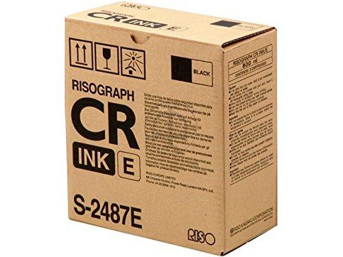 Original Riso S-2487 Tinte Black Farbe: black -