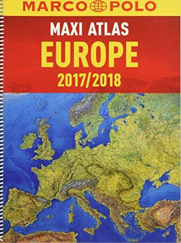 2016/2017 Europe Maxi Atlas (Marco Polo Road Atlases) por Marco Polo