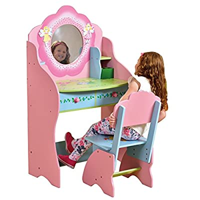 Liberty House Toys Fairy Dressing Table and Chair produced by Liberty House Toys - quick delivery from UK.