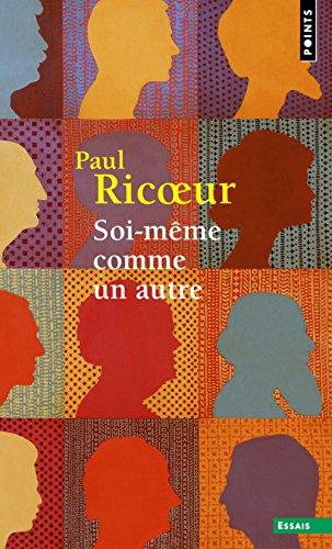 Soi-même comme un autre par Paul Ricoeur