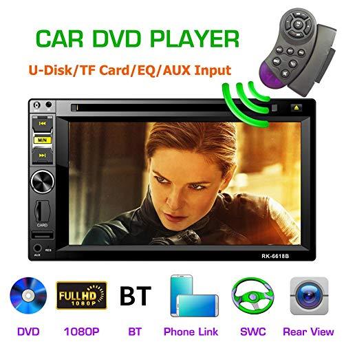Doble DIN Car Video Player HD 1080P 6.2 '' 2DIN Car