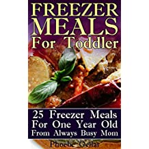 Freezer Meals For Toddler: 25 Freezer Meals For One Year Old From Always Busy Mom (English Edition)