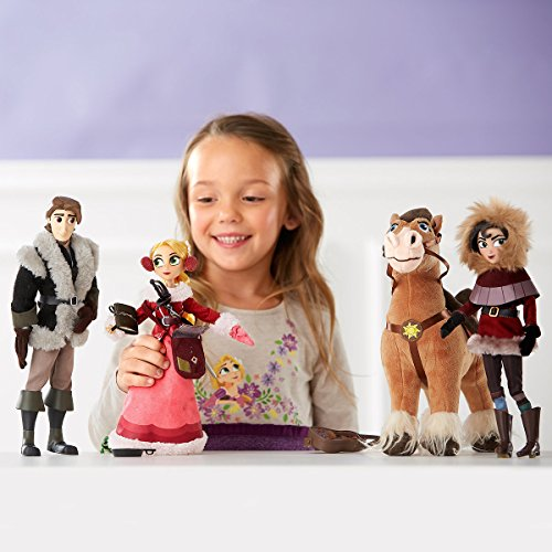 Disney Deluxe Rapunzel Tangled neu verföhnt die Serie Puppen Set Doll