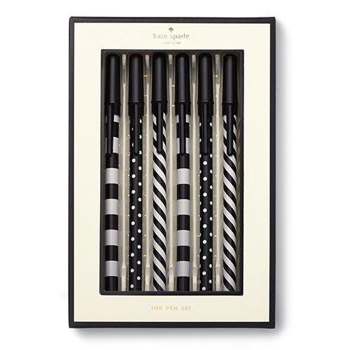 kate-spade-set-penne-modello-top-of-the-line-colore-esterno-bianco-e-nero