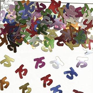 Folat 05320 - Tischkonfetti Zahl 75 - bunt - 1 x 14 gr.