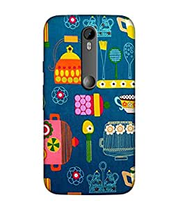 Motorola Moto G Turbo Designer / Printed Back Cover -(pattern)