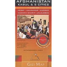 Afghanistan Kabul & 5 cities : 1/2 000 000