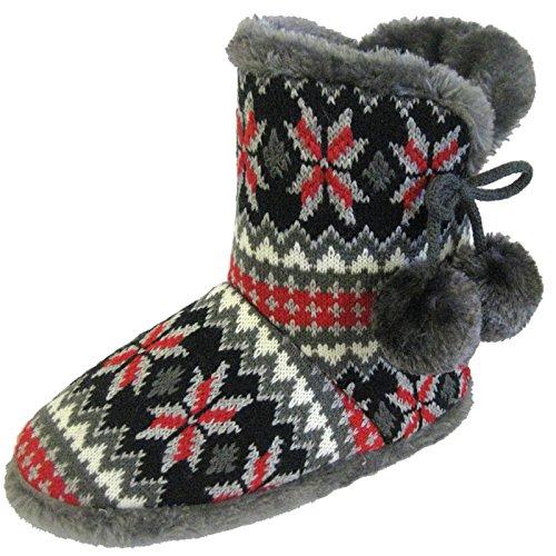 Coolers - Pantofole donna Dk Grey