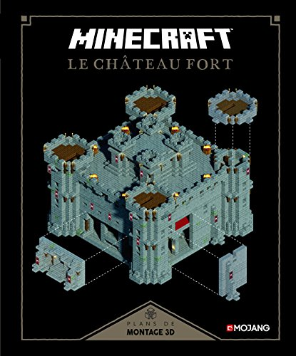 Descargar Libro Minecraft : Le château fort: Plans de montage 3D de Collectif