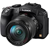 Panasonic Lumix DMC-G6HEG-K Systemkamera (16 Megapixel, 7,6 cm (3 Zoll) Display, Full HD, optische Bildstabilisierung, WiFi, NFC) mit Objektiv Lumix G 14-140mm/F3,5-5,6 Power OIS schwarz
