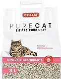 Lettiera gatti antibattterica profumata 8Llettiera assorbente...