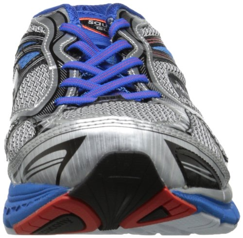 Saucony Guide 7 Blue Slime Orange Silver / Blue / Black