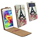 Archos 50 Saphir Smartphone Klappbare Flip Tasche /