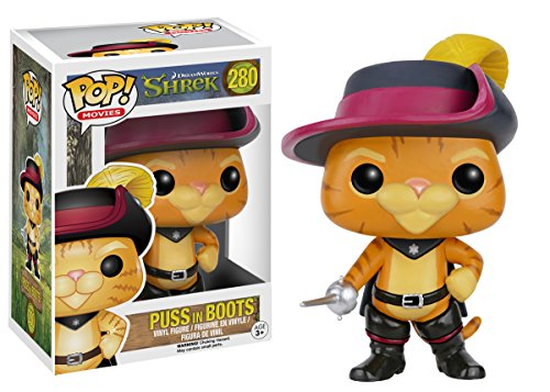 Funko Pop Gato con Botas (Shrek 280) Funko Pop Shrek