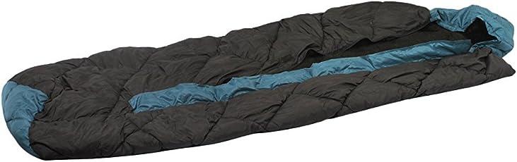 KLAIR Black Nylon Cloth Center Chain Inner Warmed Sleeping Bag
