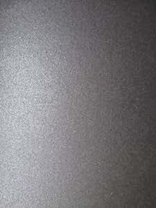 Papier nacré double face Noir A4125g/m² x 10