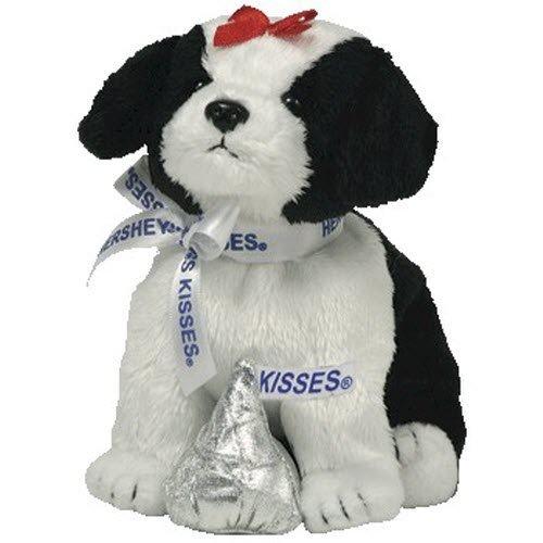 TY Beanie Baby ~ Cookies & Crème ~ HERSHEYS Kisses pour chien -