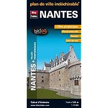 Plan de Nantes + Villes périphériques - Plan Indéchirable