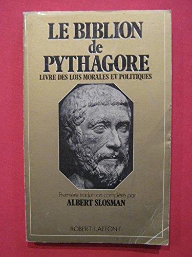 BIBLION DE PYTHAGORE