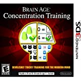 Nintendo Brain Age Concentration Training - Juego (Nintendo 3DS, Educativo, E (para todos))
