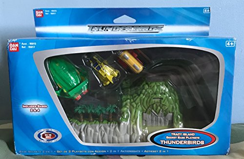 Thunderbirds Tracy Island Secret Bases 2&4 Playset