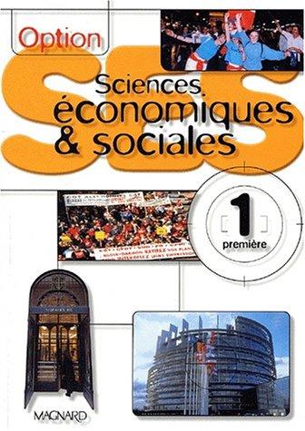 Sciences économiques et sociales 1ère option