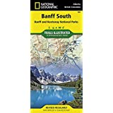 National Geographic Trails Illustrated Map Banff South Banff and Kootenay National Parks Alberta British Columbia-