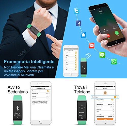 Zoom IMG-3 mpow fitness tracker ip67 orologio