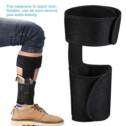 Faviye Unsichtbare Knöcheltasche, Beinabdeckung für Außenbeine, für versteckte Transportpistole -