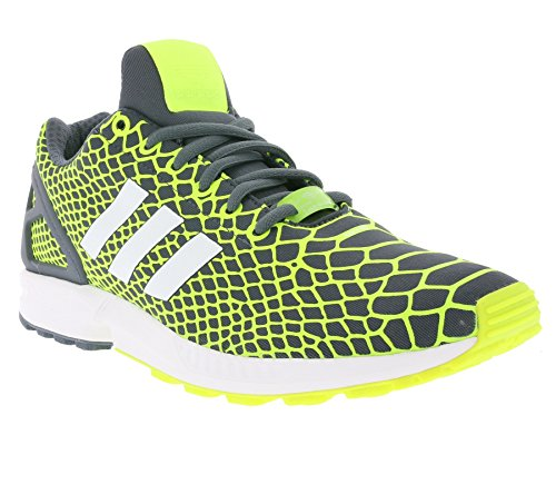 adidas Zx Flux Techfit, Baskets Basses homme yellow
