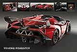 Motorsport - Poster - Lamborghini Veneno Roadster + Ü-Poster
