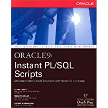 Oracle9I Instant Pl/SQL Scripts