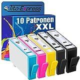 PlatinumSerie® 10x Patrone XXL kompatibel für HP 364 PhotoSmart Wireless e-All-in-One B110A B110 Series B110C B110D B110E B110F