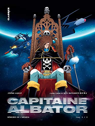 Capitaine Albator - Mémoires de l'Arcadia Edition simple Tome 1