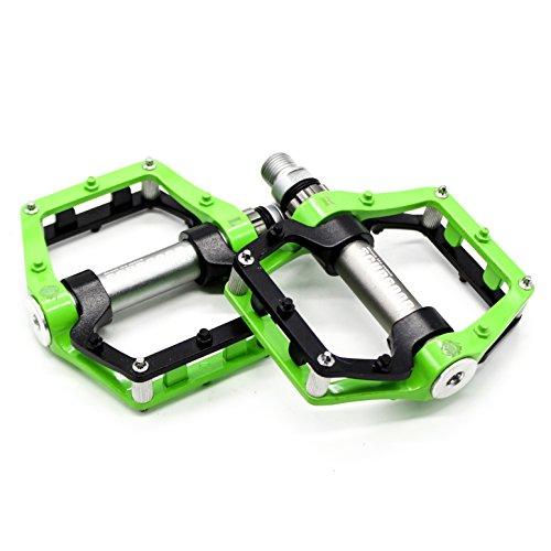 Willyn Ultra-light Lager Kugellager MTB Aluminum Fahrrad Pedale Zubehör Fahrradpedale (JT02-B&G)