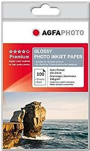 AgfaPhoto Photo Papier, 10 x 15 cm, 240 gram, 100 Blatt
