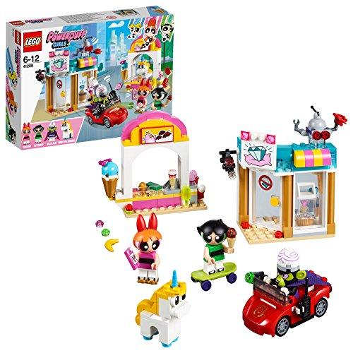LEGOThe Powerpuff Girls Angriff von Mojo Jojo (41288) cooles Kinderspielzeug
