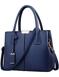51e9954a9cd1e FiveloveTwo Dame Classy Satchel Handtasche Tote Handtasche Griff Tasche  Umhängetasche