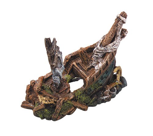 Europet Bernina 234-107843 Decor-Galleon Schiffwrack 22 x 11 x 15.5 cm