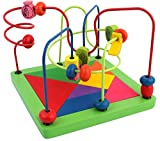 PIGLOO Wooden Beads Rollercoaster with T...