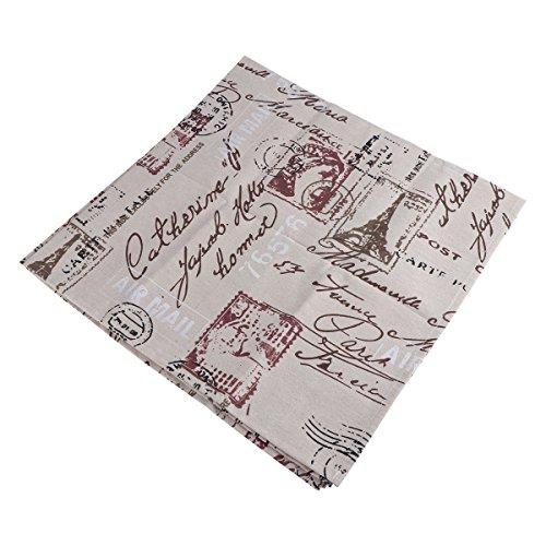 VORCOOL Mantel algodón Estilo Vintage Mantel algodón