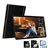 4G Tablette 10 Pouces 64Go,3Go RAM Android 8.1 Tablette Tactile Double Caméra Doule SIM/WiFi/Google Play/Office/Netflix/GPS/OTG/Bluetooth Tablet PC Voukou(Noir)