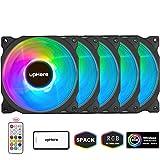 upHere RGB LED Ventola da 120mm