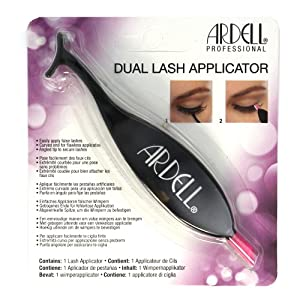 (6 Pack) ARDELL Dual Lash Applicator Black Case of 24 Pieces