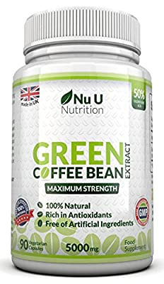 Green Coffee Bean Extract 90 Capsules by Nu U Nutrition from Nu U Nutrition