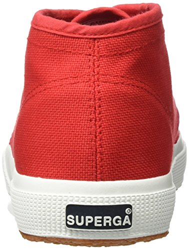 Superga 2754 Cotu, Basses Mixte Adulte Rot (Red-White)